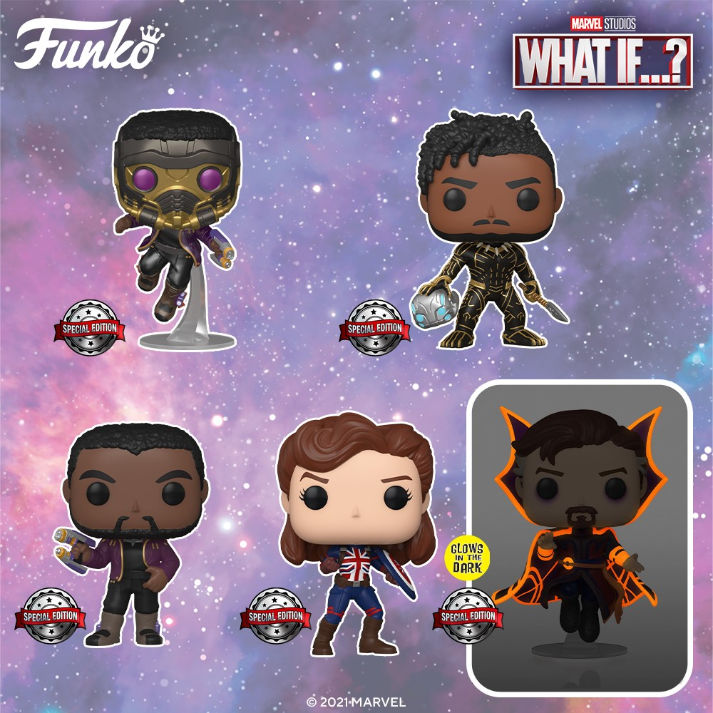 funko pop - what if - the gamebusters 1
