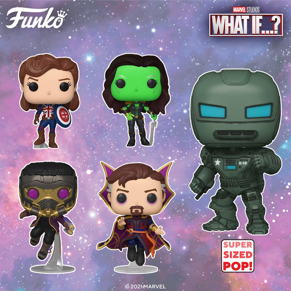 funko pop - what if - the gamebusters