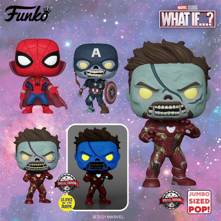FUNKO POP MARVEL WHAT IF... THE GAMEBUSTERS